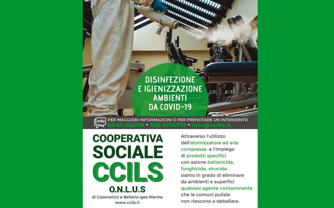 DISINFEZIONE E IGIENIZZAZIONE AMBIENTI DA COVID-19